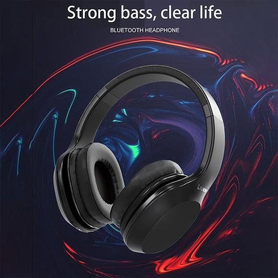 Lenovo Hd100 Bluetooth Earphone 20hours Tempo De Jogo Preto