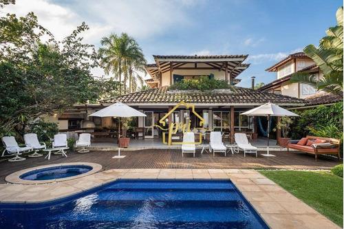 Casa À Venda, 728 M² Por R$ 16.000.000,00 - Praia De Camburí - São Sebastião/sp - Ca0108