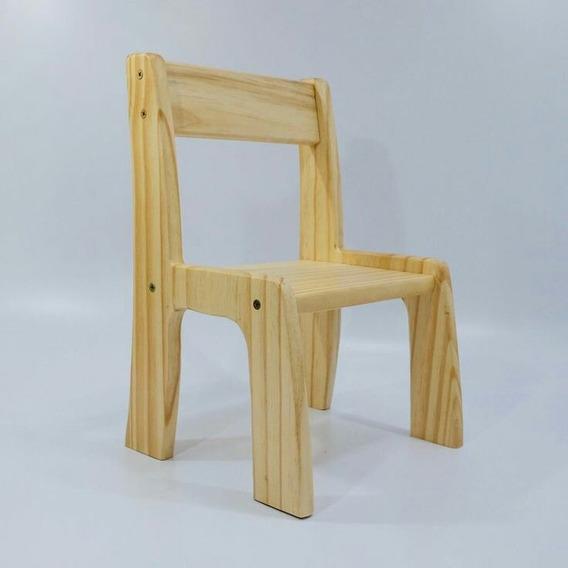 Cadeira Infantil De Pinus