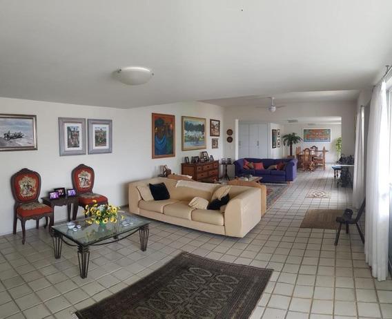 Apartamento Triplex Em Casa Forte, Recife/pe De 245m² 4 Quartos À Venda Por R$ 1.800.000,00 - At182988