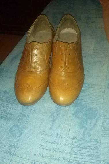 Zapatos Ash Acordonados De Cuero 37