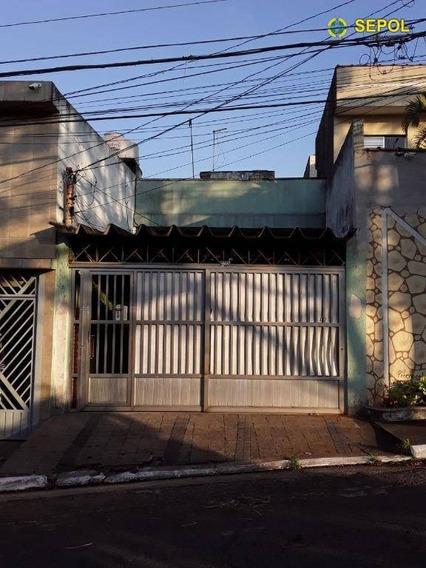 Sobrado Com 5 Dormitórios À Venda Por R$ 580.000 - Jardim Imperador (zona Leste) - São Paulo/sp - So0186