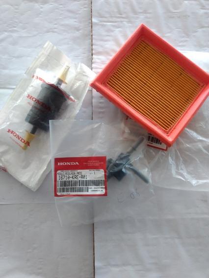 Regulador Pressão + Filtro Combust + Ar Nxr/ Titan Fan 150