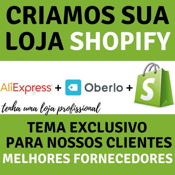Loja Exclusiva Shopify Dropshipping