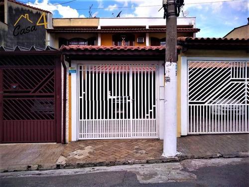 Sobrado Frontal Com 3 Dormitórios À Venda Por R$ 420.000- Vila Ponte Rasa - São Paulo/sp - So0273