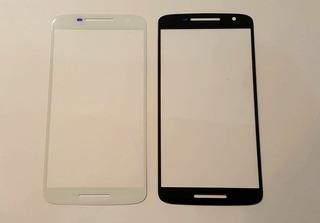Cristal Touch Moto X Play Xt1563 Negro Blanco Envio Gratis