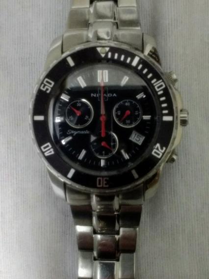 Reloj Nivada Skymaster , Cronografo, 100 Mts. P/buceo -