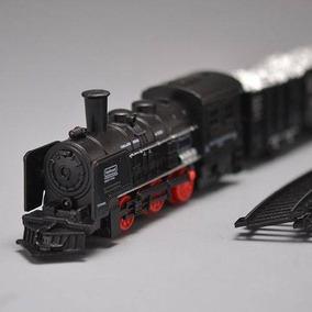 Trenzinho Infantil Brinquedo Ferrorama Locomotiva Com Luz