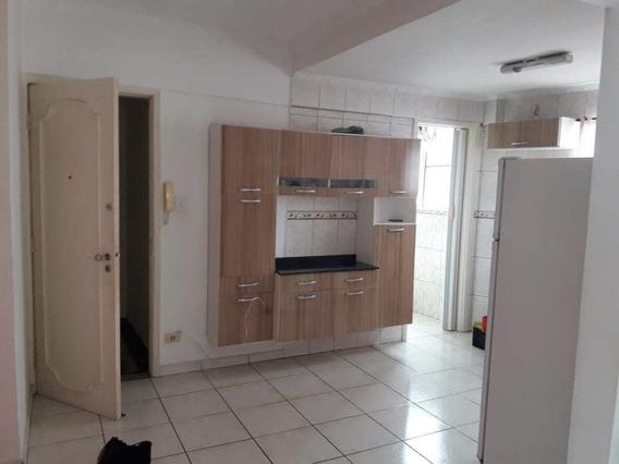 Apartamento Com 1 Dorm, Itararé, São Vicente - R$ 150 Mil, Cod: 1261 - V1261