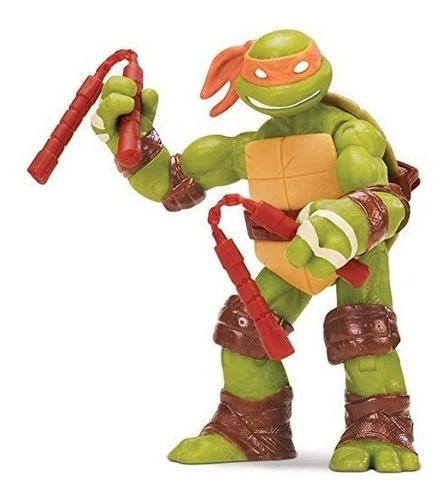 Boneco Tartarugas Ninja Michelangelo 10cms Lacrado