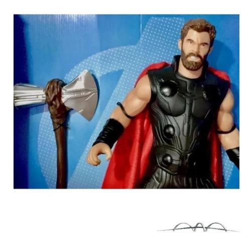 Boneco Thor Avengers Game Marvel Gigante Mimo Grande Oferta
