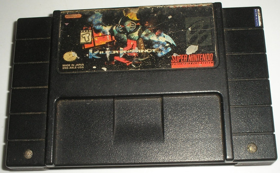 Killer Instinct Super Nintendo Original Usada