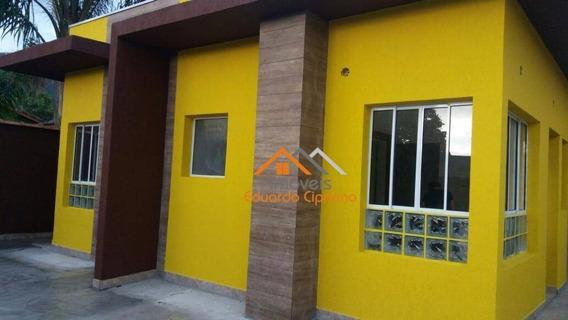 Casa Com 1 Dormitório Para Alugar, 27 M² Por R$ 700,00/mês - Massaguaçu - Caraguatatuba/sp - Ca0162
