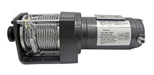 Malacate Winch Electrico 12 V Capacidad  2500lbs  Cable 14 M