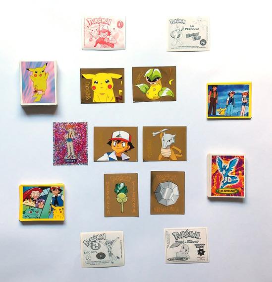 Lote Pokémon Tazos, Estampas, Tarjetas Y Postales