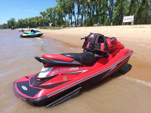 Moto De Agua Kawasaki Ultra 250 X Con Funda Gallino Marine