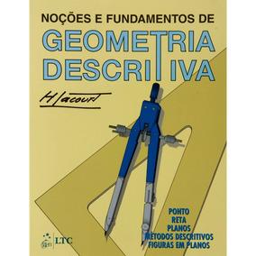 Livro Noções E Fundamentos De Geometria Descritiva Lacrado!!