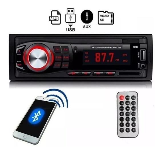 Autoestereo Bluetooth Stereo Mp3 Usb Fm 2020