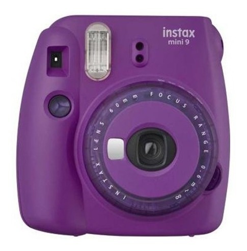 Câmera Fujifilm Instax Mini 9 Roxo Açaí