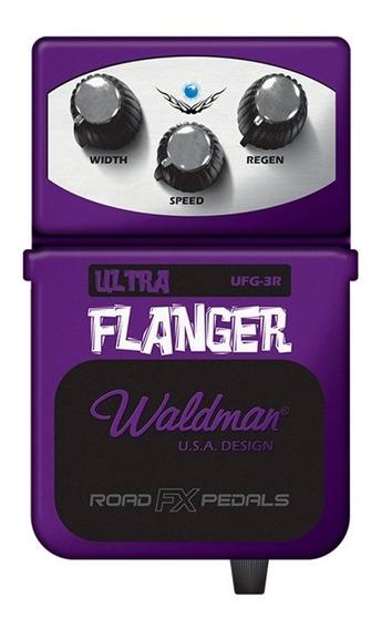 Pedal Para Guitarra Waldman Ultra Flanger - Ufg-3r