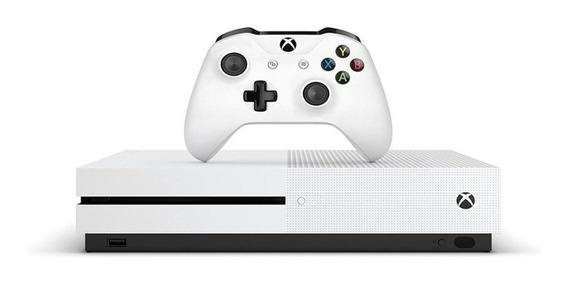 Xbox One S 1tb Pronta Entrega Lacrado + Jogo De Brinde