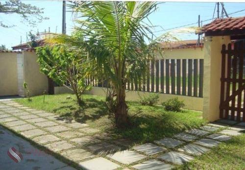 Casa Com 2 Quartos, 380 M², À Venda Por R$ 330.000 Cibratel Ii - Itanhaém/sp - Ca0290