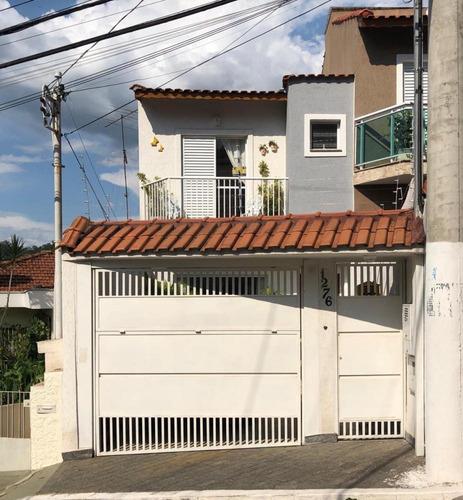 Imagem 1 de 24 de Sobrado Com 02 Dormitórios E 80 M²   Horto Florestal , São Paulo   Sp - Sb334496v