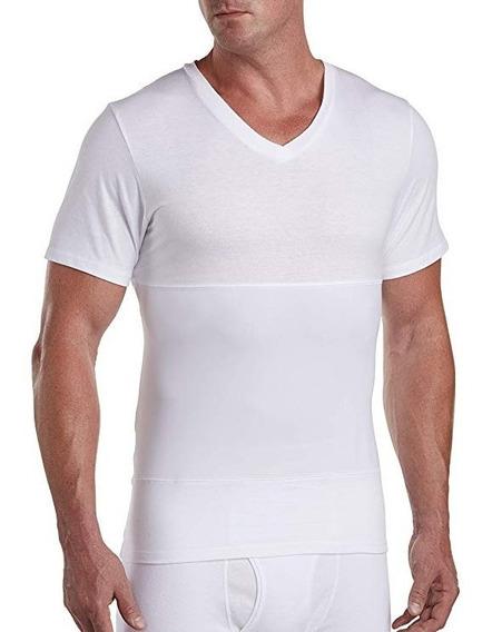 Camisa Camiseta Cuello V Reductora Tipo Faja Harbor Bay
