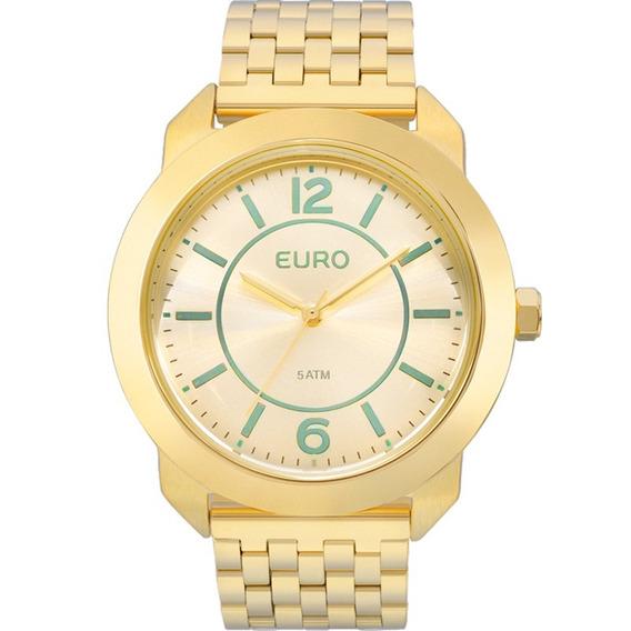 Relógio Feminino Euro Trend Original Garantia Eu2035ylf/4a