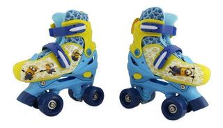 Patines Disney Niño Minion Roller Ajustables T371087 19-21cm