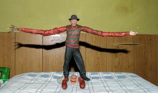 Freddy Krueger Neca ¡serie 1! Completo.