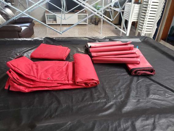 Cobertura 3x3 Nylon Tenda Sanfonada[ Somente A Lona]
