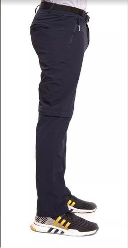 Pantalon Desmontable Hombre Outdoor Secado Rapido Filtro Uv Cordillera Ventas