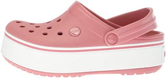Crocs Crocband Platform Mujer- Blossom/white