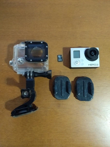 Câmera Gopro Hero 3 Silver Edition