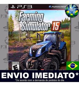 Jogo Ps3 Farming Simulator 15 Play 3 Digital Psn Envio Agora