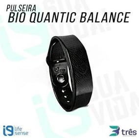 Pulseira Bio Quantic Balance - Preta - I9 Life