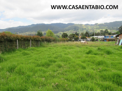 Vendo Lote De 1.000mts En Tabio Rio Frio Oriental