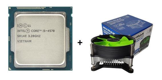 Processador Core I5 4570 3.6ghz Lga1150 + Cooler + Nfe