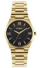 Relógio Euro Feminino Dourado - Eu2035ypb/4p