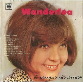 Cd Wanderlea E Tempo Do Amor Novo Lacrado Original