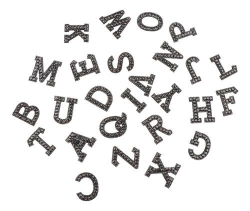 Imagen 1 de 5 de Parches De Letras, 26 Unidades, Con Diseño De Alfabeto, Par
