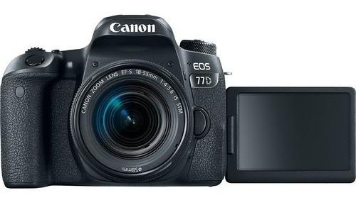 Promoção Câmera Canon 77d Kit 18-55mm Loja Garantia Promoção