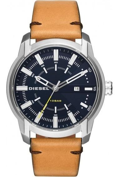 Relógio Masculino Diesel Dz1847 - Pulseira Em Couro