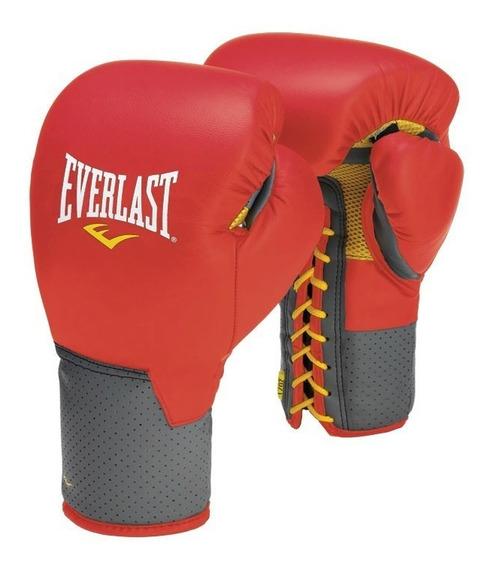 Guante De Boxeo Cuero Con Cordones - Everlast Oficial