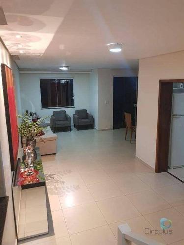 Imagem 1 de 26 de Casa Com 3 Dormitórios À Venda, 220 M² Por R$ 950.000,00 - Condomínio Alto Do Bonfim - Ribeirão Preto/sp - Ca2002