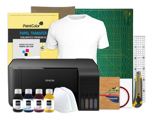 Imagem 1 de 5 de Impressora Sublimática L3150 Epson + Kit Completo De Produto