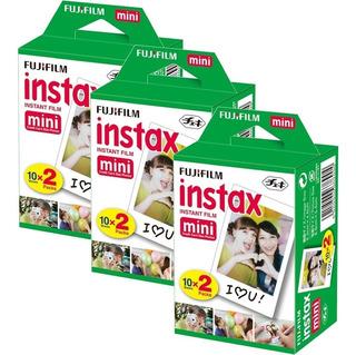 6 Rollos Fuji Instax Mini Instant