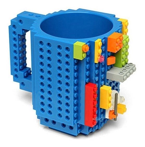 2 Canecas Lego Com Blocos De Montar Presente Frete Grátis