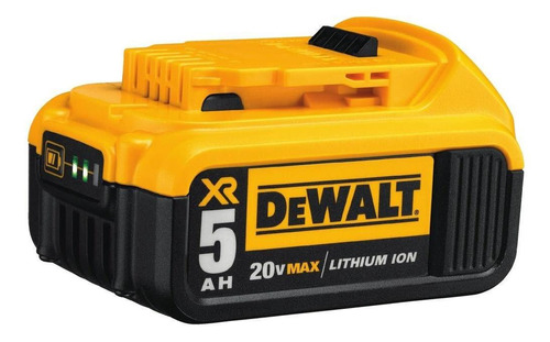 Bateria De Lítio 20v Max  5.0 Ah Dcb205-b3 - Dewalt